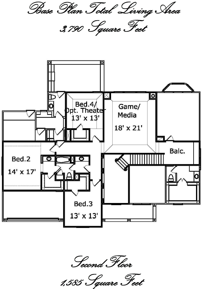 Floor Plan And Site Mcvaugh Custom Homes